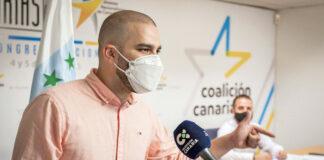 Jesús Machín, secretario general de los Jóvenes Nacionalistas de Canarias./ Cedida.