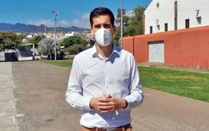 Juan Antonio Molina, portavoz municipal de Cs en el Ayuntamiento de La Laguna./ Cedida.