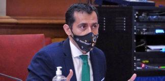 Juan José Martínez, portavoz del grupo CC-PNC./ Cedida.