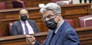 Julio Pérez, Consejero de Administraciones Públicas, Justicia y Seguridad del Gobierno de Canarias./ Cedida.