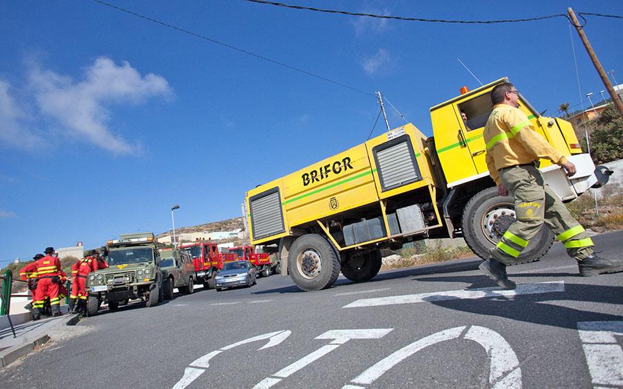 CC-PNC pide que el operativo de incendios sea fijo todo el año y que Tenerife cuente con un batallón completo de la UME