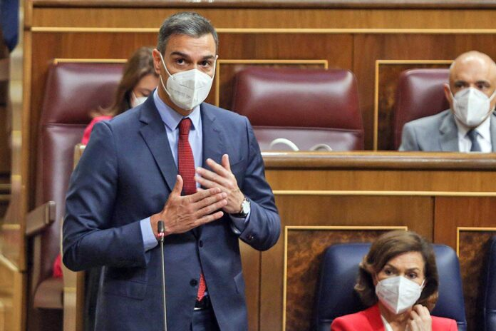 Pedro Sánchez, presidente del Gobierno de España./ Congreso de los Diputados, Madrid - Miércoles 23 de junio de 2021.
