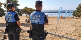 Operativo de playas de Seguridad Ciudadana y Vial./ Cedida.