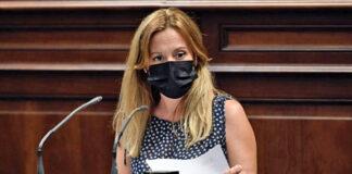 Rosa Dávila, diputada del Grupo Nacionalista Canario./ Cedida.