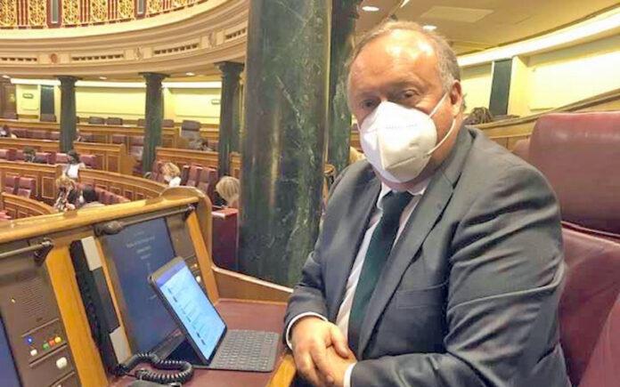 Sebastián Ledesma, diputado del PP por Santa Cruz de Tenerife./ Cedida.
