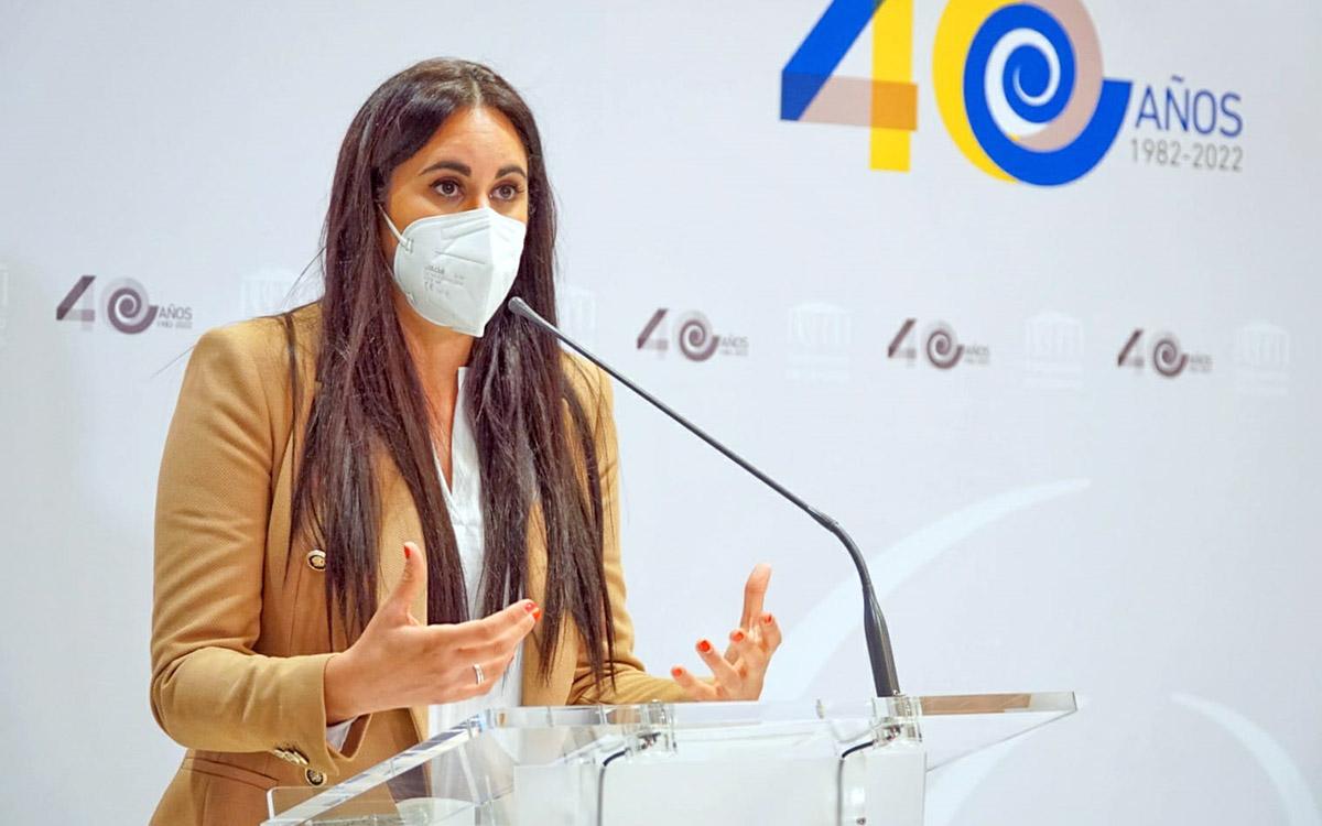 Vidina Espino exige a Nadia Calviño los 126 millones del plan de infraestructuras para empezar a modernizar la educación