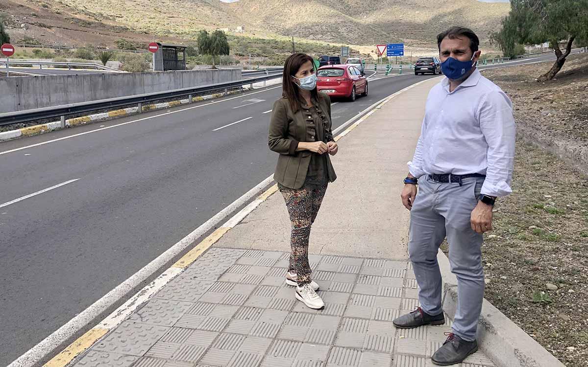 El PP reclama al Cabildo que garantice la seguridad de los usuarios de la línea 416, en el núcleo de Guaza
