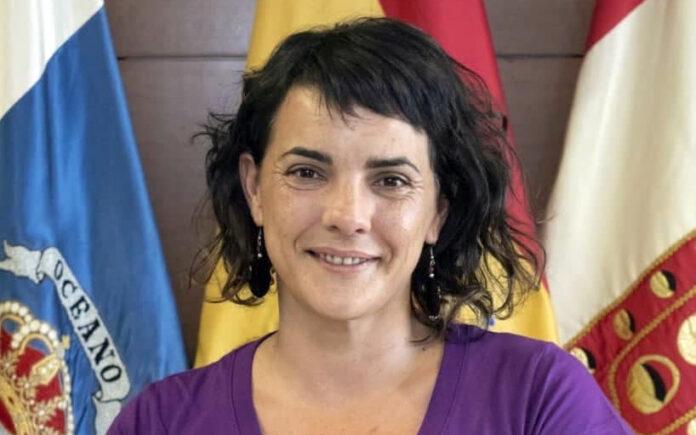 Ada García Santos, consejera insular de Iniciativa por La Gomera./ Cedida.