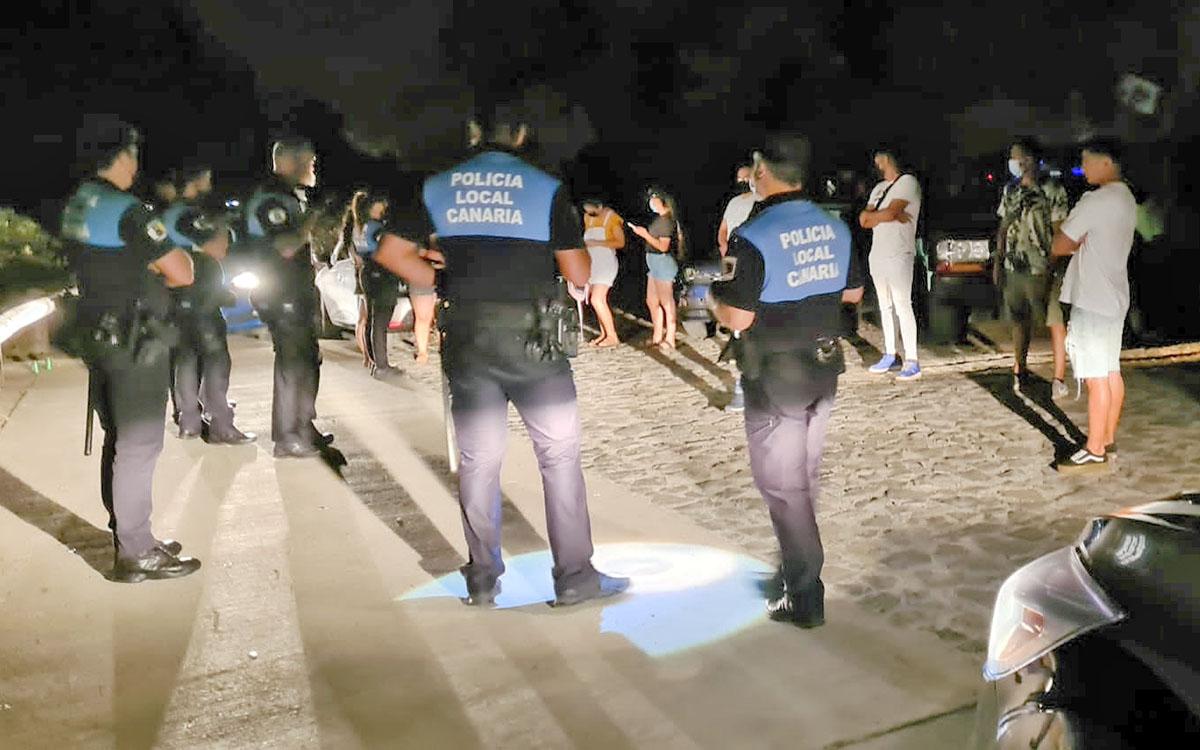 Más de 120 denuncias por infracciones en la última semana en la capital tinerfeña