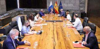 Consejo de Gobierno extraordinario celebrado hoy./ Cedida.