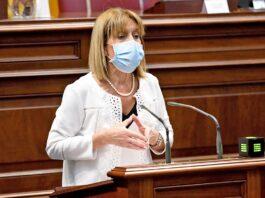 Esther González, parlamentaria de Nueva Canarias./ Cedida.