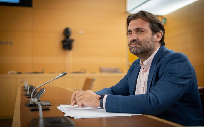 Manuel Fernández, consejero Popular en el Cabildo de Tenerife./ Cedida.