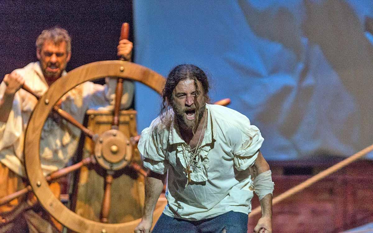 El Teatro Guimerá revive la primera vuelta al mundo de Magallanes y Elcano