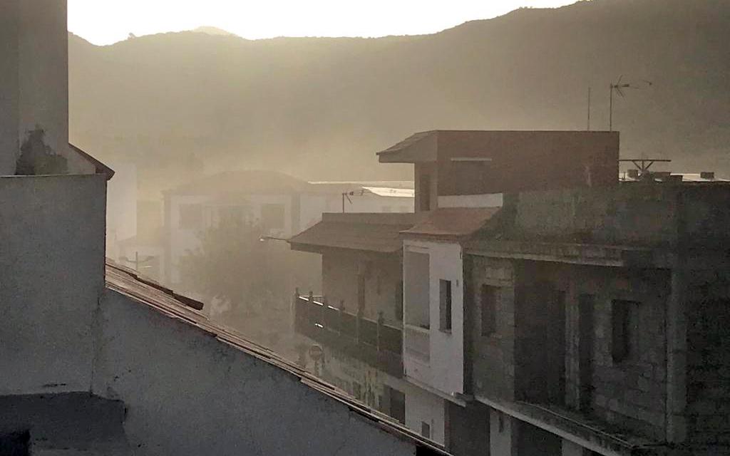 CC-PNC Santiago del Teide denuncia la insoportable situación que genera la planta de áridos del Anillo Insular