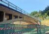 Puente de San Andrés cortado al tráfico./ Cedida.