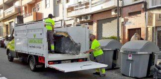 Servicio gratuito de recogida de residuos./ Cedida.