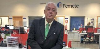 Alberto Villalobos, presidente de la Federación Provincial de Empresas del Metal y Nuevas Tecnologías de S/C. de Tenerife./ Cedida.