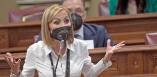 Australia Navarro, portavoz del Grupo Parlamentario Popular y presidenta del PP de Canarias./ Cedida.