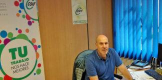 César Martínez Araque, presidente autonómico del Sindicato CSIF en Canarias./ Cedida.