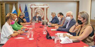 Consejo de Gobierno extraordinario celebrado hoy en Las Palmas de Gran Canaria./ cedida.