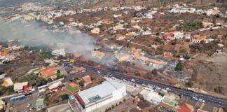 Incendio forestal de El Paso./ Cabildo de La Palma.