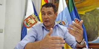 Andrés Martínez, portavoz del Partido Popular en el Ayuntamiento de Arico./ © Manuel Expósito.