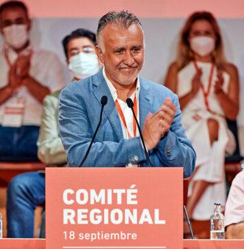 Ángel Víctor Torres ha anunciado este sábado de forma oficial que optará a la reelección como Secretario General del PSOE de Canarias./ Cedida.