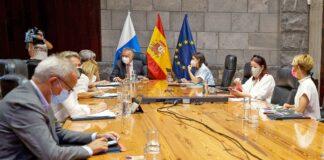 Consejo de Gobierno celebrado hoy jueves en S/C. de Tenerife./ Cedida.