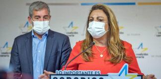Cristina Valido, secretaria ejecutiva nacional de Coalición Canaria./ Cedida.