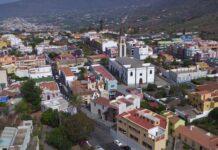 El Pas, casco urbano, La Palma./ Cedida.