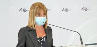 Esther González, portavoz económica de Nueva Canarias (NC) y vicepresidenta primera de la Mesa del Parlamento./ Cedida.