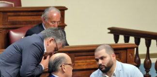 Grupo Nacionalista Canario en el Parlamento de Canarias./ Cedida.