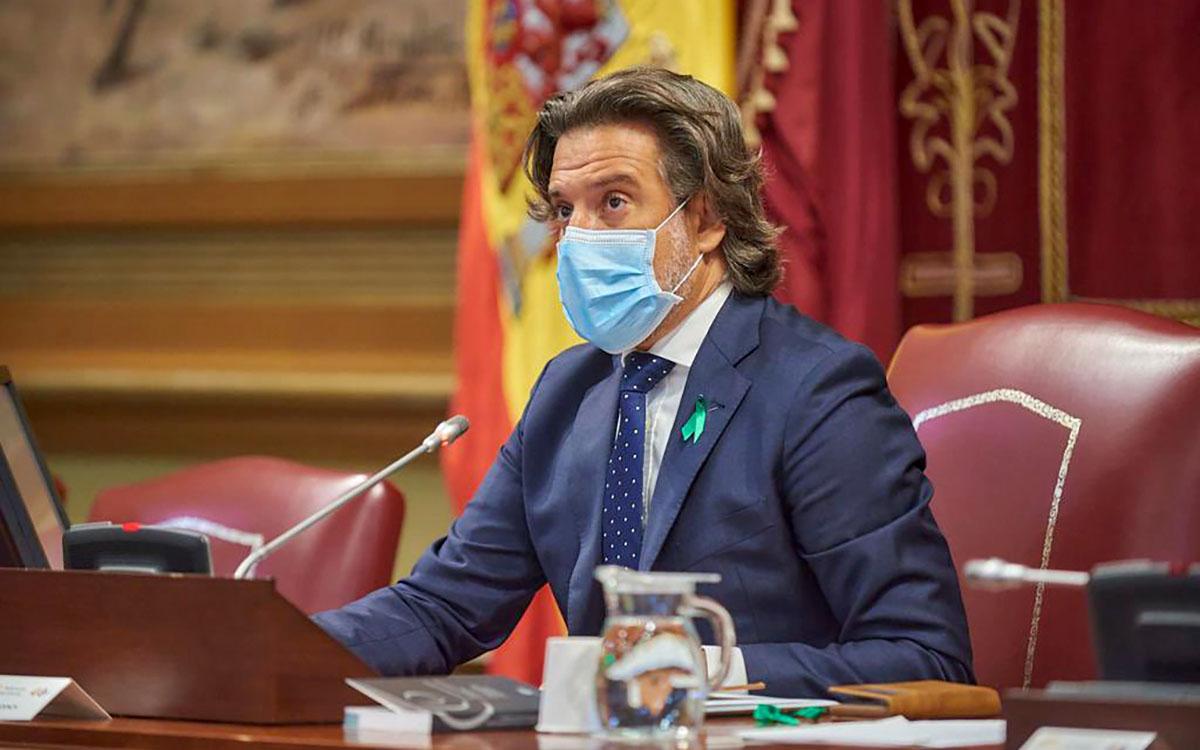 Erupción en La Palma: declaración institucional del Parlamento de Canarias