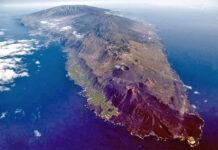 Isla de La Palma./ Twitter @involcan