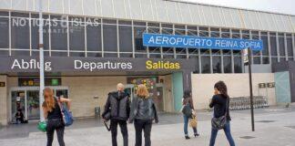 Llegadas, Aeropuerto Tenerife Sur./ © Manuel Expósito.