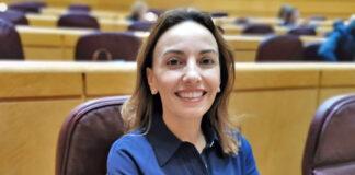 Olivia Delgado, senadora por Tenerife y portavoz de Transformación Digital del PSOE en la Cámara Alta./ Cedida.
