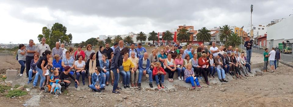 Los vecinos Tamaraceite-San Lorenzo-Tenoya recuperan el Parque Urbano de La Suerte