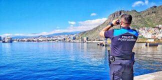 Policía portuaria de Tenerife./ Twitter @PortsSCTenerife