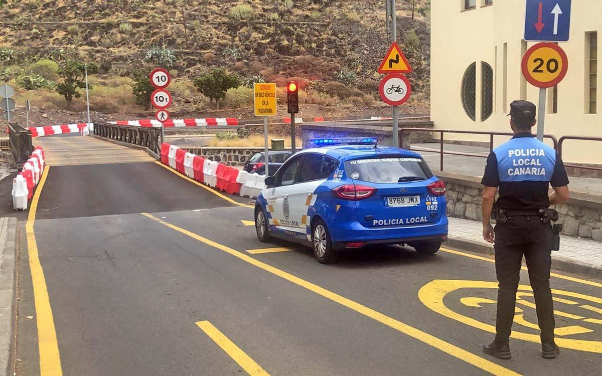 El Ayuntamiento pide que se respeten las normas de uso del puente de San Andrés