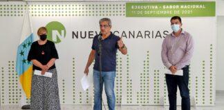 Rueda de prensa ofrecida hoy para informar de los acuerdos adoptados por Ejecutiva - Sabor Nacional./ Cedida.