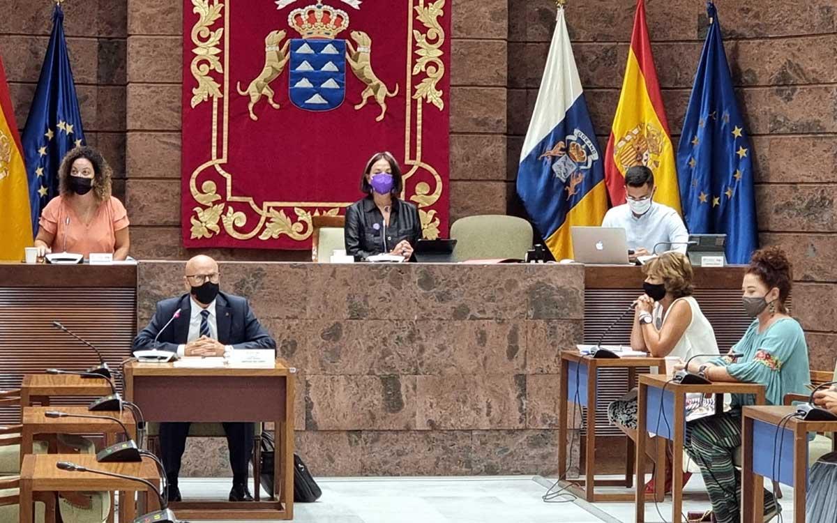 Parlamento de Canarias: a debate el Informe sobre  los Centros de Atención Residencial para mayores
