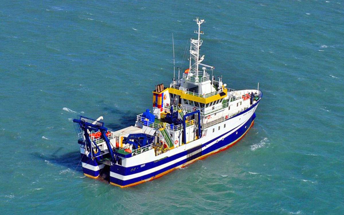 El buque del IEO llega hoy a La Palma para estudiar los efectos de la erupción en el ecosistema marino