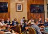 Reunión del Comité Director del PEVOLCA./ Cedida.