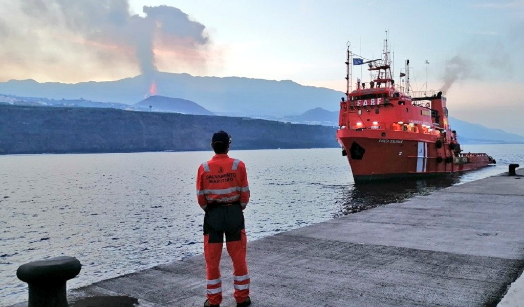 Modificada hacia el norte la zona de exclusión a la navegación para garantizar la seguridad marítima