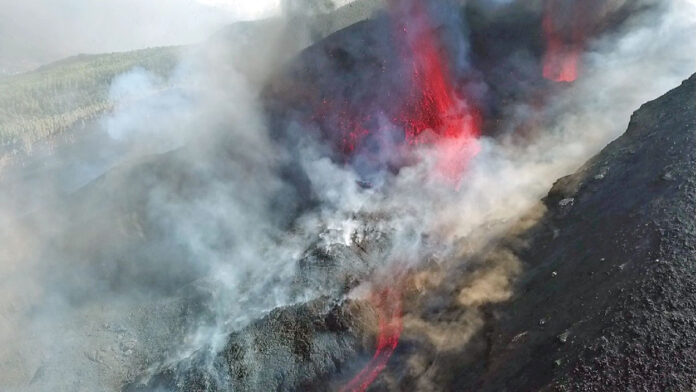 Volcán de La Palma./ Cedida.