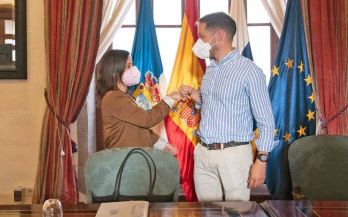 Yaiza Castilla y Mariano H. Zapata./ Cedida.