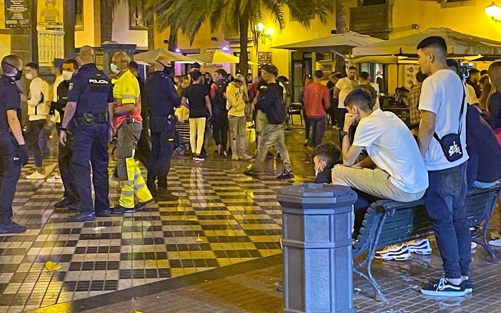 El PP solicita el refuerzo urgente de la seguridad en la Plaza de Las Ranas ante la frecuentes peleas los fines de semana