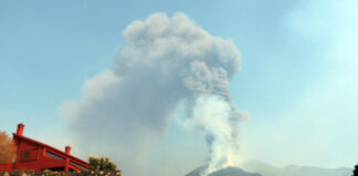 Volcán en Cumbre Vieja, La Palma./ INVOLCAN.
